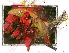 Hellboy by Bill Sienkiewicz
