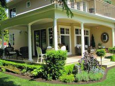 Find and save ideas about Front porch design ideas. See more ideas about Front porch remodel, Front porches and Front porch addition. Home Porch, House With Porch, House Front, Front Deck, Small Front Porches, Front Porch Design, Porch Designs, Wraparound Porches, Design Entrée