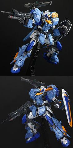MG 1/100 Duel Gundam Assaultshroud - Customized Build