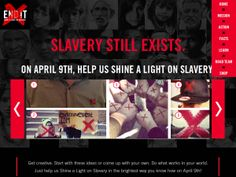 ✔️ The END IT Movement -- I was apart of this at Passion 2013 :) -- where you asks Americans to Shine a Light on Slavery by Drawing a Red X on Their Hands April 9 and Sharing It Across Social Networks!!