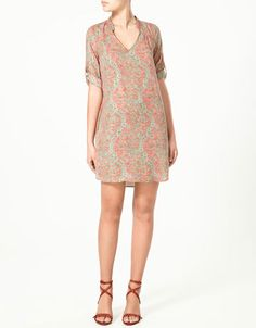 Zara printed tunic $59.90