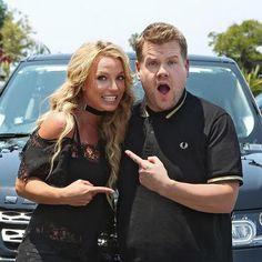 Hot: Britney Spears Is Doing Carpool Karaoke with James Corden