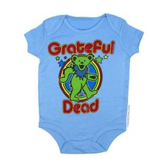 Grateful Dead - Dancing Bear Romper on Sale for $19.95 at The Hippie Shop EVERY BABY NEEDS THIS