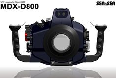 Sea MDX-D800: another underwater housing for Nikon D800 coming soon