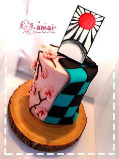 Bolo Naruto, Anime Cake, Anime Wedding, Cute Birthday Cakes, Cute Desserts, Cafe Food, Cute Cakes, Party Cakes, Cake Designs