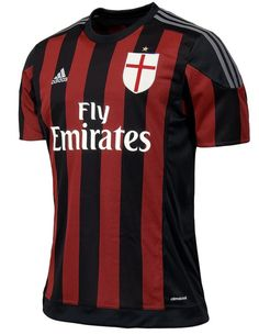 This is the new AC Milan home jersey 2015/16, Milan's new home strip for the upcoming Serie A season, made by Adidas. The Rossoneri have reverted to a more traditional striped design for the …