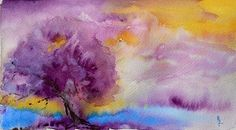Into the Mist, painting by Beverley H artery Tinsley