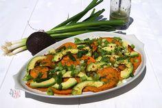 Süßkartoffelsalat mit Avocado