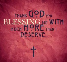 Yes, thank you God. I know that without you I could never have ended up with my foster siblings.