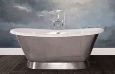 Traditional roll top baths made from copper, cast iron and brass, complemented with our range of bathroom accessories. Cast Iron Bath, Copper Bath, Roll Top Bath, Bathroom Accessories, It Cast, Bathtub, Brass, Traditional, Standing Bath