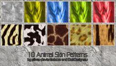 Animal Skin Patterns by silver-