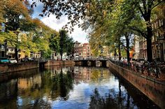 """My favorite view,"" from fan Dean Blazic. What's your favorite #Amsterdam view?"
