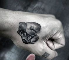 Hand Tattoos Of Boxing Gloves For Men tattoos for men 40 Boxing Tattoos For Men - A Gloved Punch Of Manly Ideas Boxing Gloves Tattoo, Boxing Tattoos, Tattoos Masculinas, Trendy Tattoos, Finger Tattoos, Forearm Tattoos, Small Tattoos, Sleeve Tattoos, Tatoo Muay Thai