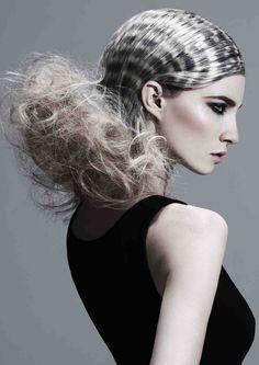 WINNER: Esther Sweenie-Rowe, Beepers Hair Salon, Southern Avant Garde