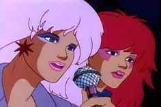 """Jem lived up to all 3 """"truly's"""" in her outrageous theme song. The Holograms, the Misfits, the Stingers. It all equals totally awesome 80s fun!"""