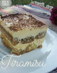 Tiramisu de casă Tiramisu, Ethnic Recipes, Food, Essen, Meals, Tiramisu Cake, Yemek, Eten