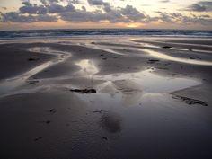 Himmelsprile, Strand bei Surtainville, Normandie - Foto: S. Hopp
