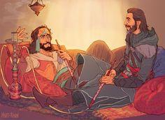 Yusuf Tazim and Ezio Auditore da Firenze