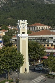 Central Square of Xanthi town, Thrace, Greece