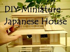 (377) DIY Miniature Japanese House - YouTube