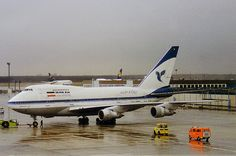 EP-IAA Iran Air Boeing 747-SP   Seen pushing back at a very …   Flickr