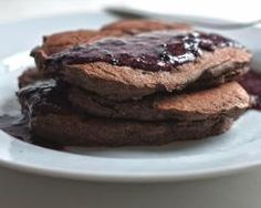 Buckwheat flour infuses these hearty banana pancakes with extra protein, fiber and nutrients. If you find buckwheat s earthy flavor too strong on its own, replace half of it with another gluten-free flour, such as brown rice or quinoa. Buckwheat Pancakes, Banana Pancakes, Gluten Free Recipes For Breakfast, Gluten Free Breakfasts, Gf Recipes, Cupcake Recipes, Family Recipes, Healthy Recipes, Chocolate Bar Recipe