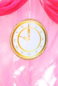 Princess Party - CLOCK - Princess Printables