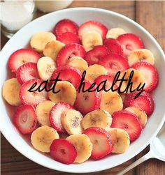 Don't only exercise, eat healthy. Don't only eat healthy, exercise. They are together...