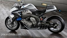 Cool BMW Sportsbike concept. Very much like a streetfighter.