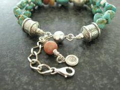 Turkoois Armband De Luxe - Kleurrijke Wereld Sieraden