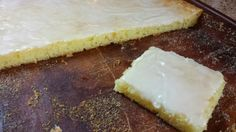 Absolutely fabulous  Lemon Bars. And they just use two ingredients + the lemon glaze.