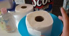 DIY makeup wipes! He Soaks A Roll Of Paper Towel In Water. When I Find Out Why, I NEED To Try This!