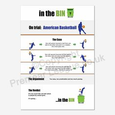 BASKETBALL GOES IN THE BIN - Basketball on trial