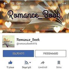 Romance Book è anche su facebook! Passate a trovarci per leggere tante altre frasi e rimanere sempre aggiornati sulle ultime novità romantiche! #romancebook #facebook