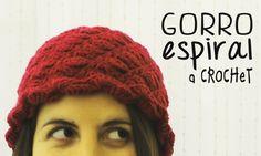 Gorro a Crochet (tejido en espiral) (+lista de reproducción)