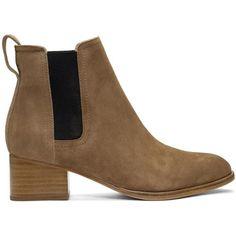 #SSENSE - #Rag and Bone Rag and Bone Tan Suede Walker Boots - AdoreWe.com