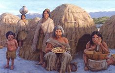 The tribal people prefer to live the natural way of life. Let see top 10 Most Endangered Tribes in the World. Native American Women, American Spirit, Native American History, Native American Indians, Native Americans, Native Place, Indian Village, Desert Art, Indian Tribes