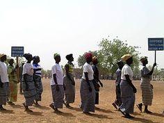 Día Internacional de la Mujer, 2009, Burkina Faso.