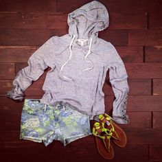 Summer Casual Outfit. Outfits like these are my favorite for cool summer nights.