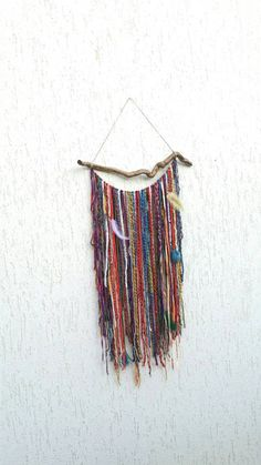 Check out this item in my Etsy shop https://www.etsy.com/uk/listing/245514217/bohemian-decor-boho-garland-wall-hanging