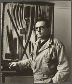 Hans Hartung, by Ida Kar, 1954 - NPG Ax134253 - © National Portrait Gallery, London