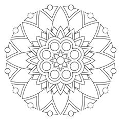 Printable Mandala Coloring Pages Colouring