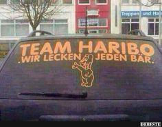 Team HARIBO.. | Lustige Bilder, Sprüche, Witze, echt lustig