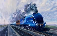 The world speed record for a steam railway locomotive was set in England by the Mallard 78 years ago Mallard Train, East Coast Main Line, Union Of South Africa, Foto Top, Flying Scotsman, National Railway Museum, Steam Railway, British Rail, Speed Dating