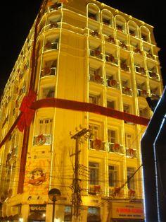 Natal de luz na Praça do Ferreira, Fortaleza, Ceará - BRASIL