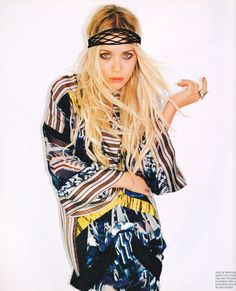 Mary-Kate Olsen in our Dec/Jan 2008 issue