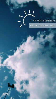 I've got sunshine on a cloudy day! Instastories Taken by: . I've got sunshine on a cloudy day! Instastories Taken by: … I've got sunshine on a cloudy day! Instastories Taken by: ♡