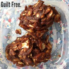 Guilt free no bake cookies. Grain free and Sugar Free.  #maximized living