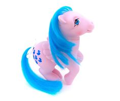G1 My Little Pony Sprinkles Pegasus Ponies Waterfall! www.CuteVintageToys.com  Hundreds Of Kawaii Vintage Toys From The 80s & 90s! Follow Me & Use The Coupon Code PINTEREST For 10% Off Your ENTIRE Order!  Dozens of G1 My Little Ponies, Polly Pockets, Popples, Strawberry Shortcake, Care Bears, Rainbow Brite, Moondreamers, Keypers, Disney, Fisher Price, MOTU, She-Ra Cabbage Patch Kids, Dolls, Blues Clus, Barney, Teletubbies, ET, Barbie, Sanrio, Muppets, Sesame Street, & Fairy Kei Cuteness!