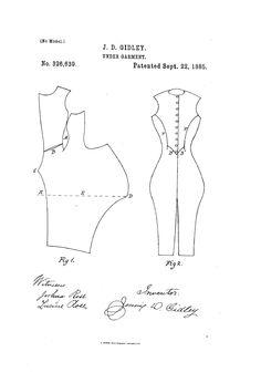 1885 Combinations Patent US326639 - JENNIE D - Google Patents